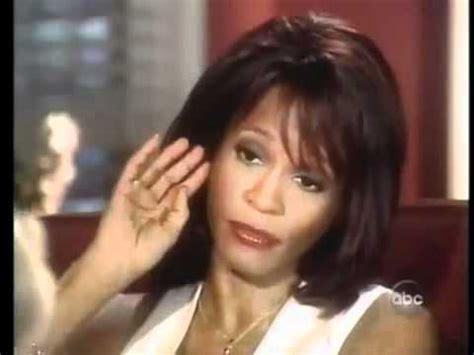 Whitney Houston And Diane Sawyer Interview   whitney houston diane sawyer 2002 interview youtube
