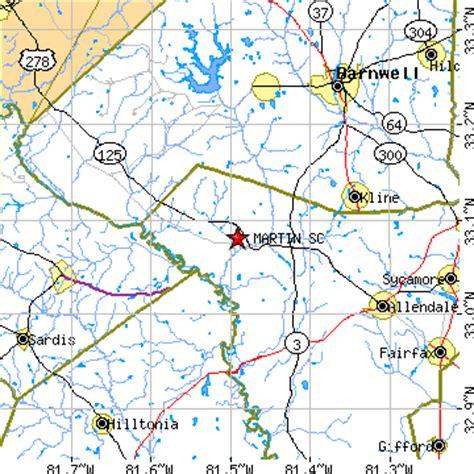 martin county beacon martin south carolina sc population data races
