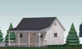 Saltbox House Floor Plans by Shed Plans Blueprints 12 Ft X 24 Ft With Porch 15 00