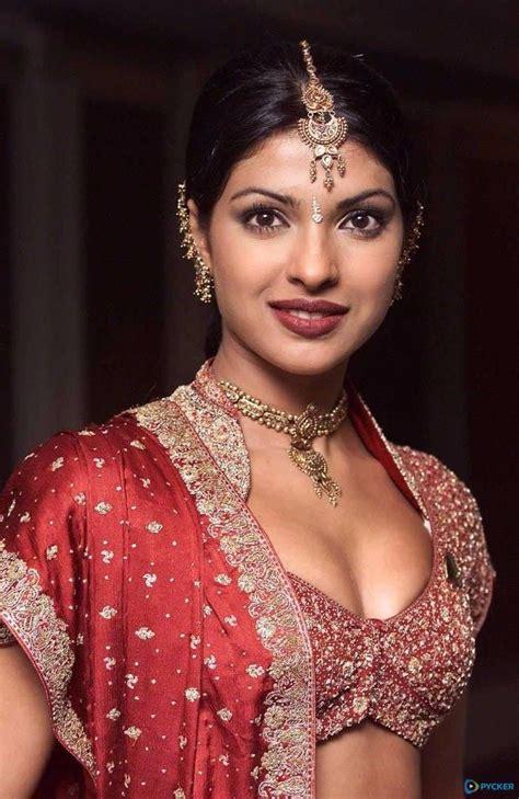 priyanka chopra in ethnic wear 17 best priyanka chopra images hot in saree in ethnic