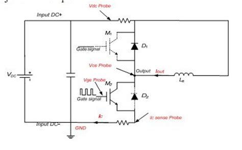igbt diode test pulse testing to switching features of power module power modules