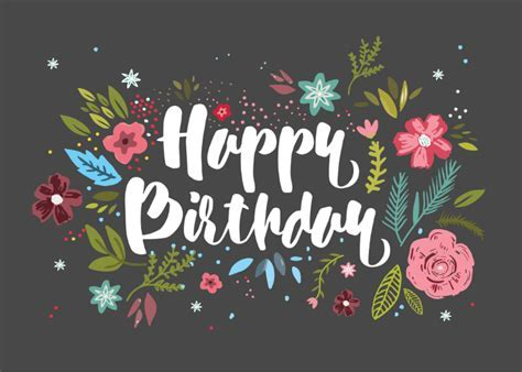 Smell the Celebration   Birthday Card (free)   Greetings