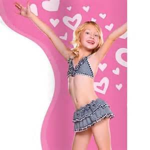 Hula star black white gingham 2pc skirtini swimwear little girls 2t 6x