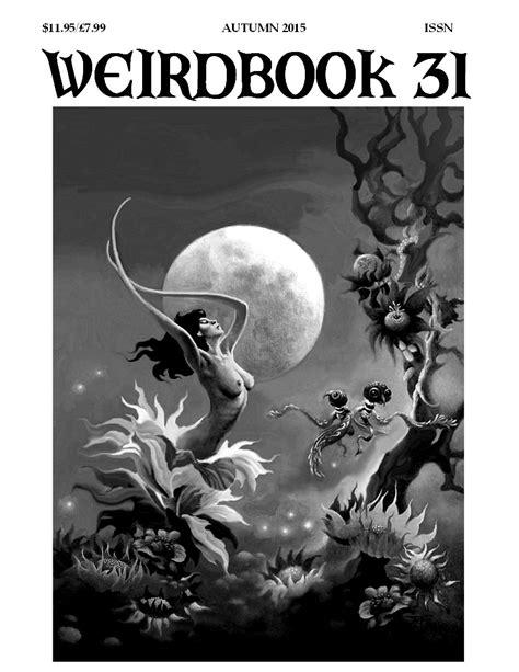 weirdbook 37 books march 2015 weirdbook magazine