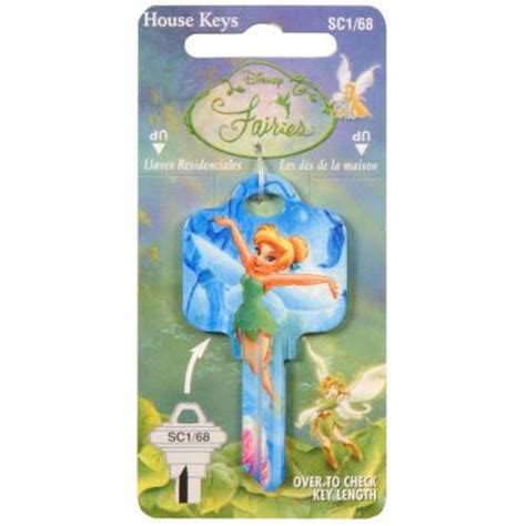 the hillman 68 disney tinker bell house key 94445 the home depot