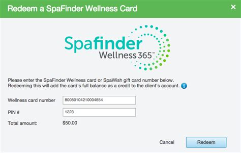 Where To Use Spafinder Gift Card - spafinder gift card balance lamoureph blog