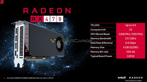 Pc Gaming Amd Rx 470 amd radeon rx 470 and radeon rx 460 official specs and