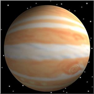 what color is jupiter clip planets jupiter 3d color i abcteach abcteach