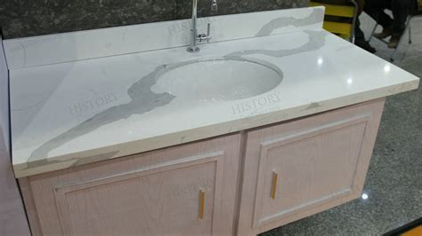 calacatta white quartz countertop white quartz vanity top