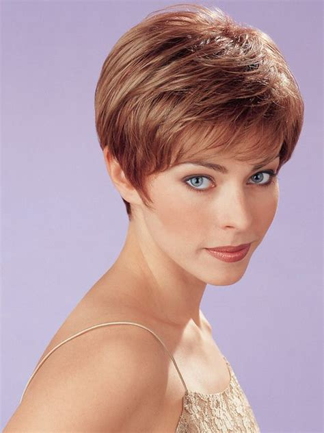 fine hair wigs henry margu annette wig short traditional wedge cut