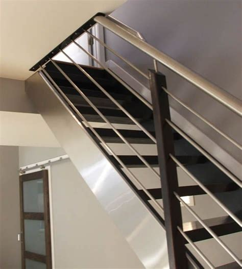 modern banisters and handrails best 25 interior stair railing ideas on pinterest