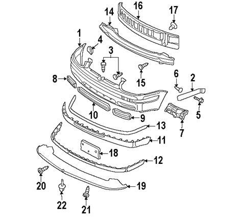 vw jetta parts diagram parts 174 volkswagen jetta bumper components oem parts