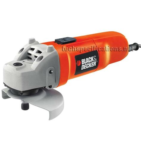 black and decker grinder black decker cd115 angle grinder tech specs