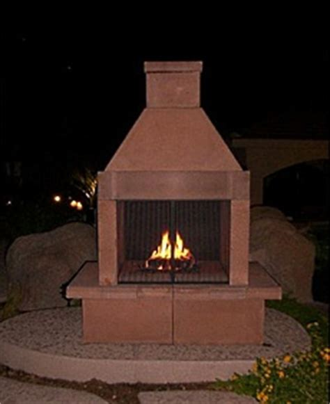 Outdoor Prefab Fireplace by Prefab Outdoor Fireplaces Images