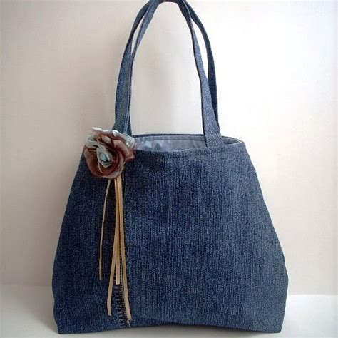Jean Handbags Handmade - not just handbags upcycled handbag featured on uk