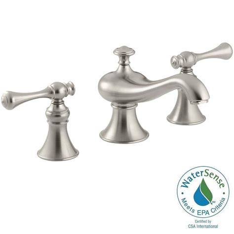 Water Saving Bathroom Faucets by Kohler Revival 8 In Widespread 2 Handle Low Arc Water
