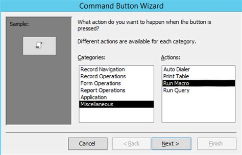 form design view access 2013 create a macro in microsoft access 2013