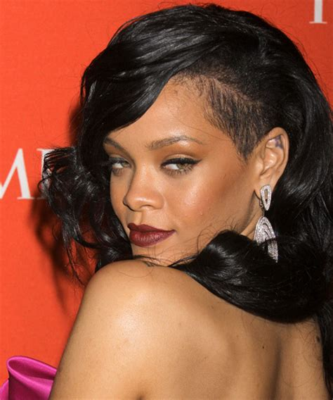 rihanna short hairstyles front and back view for head rihanna pixie haircut front long and back short view