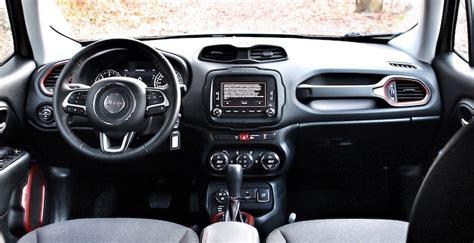 jeep renegade dashboard jeep renegade trailhawk een fijne eyecatcher driving