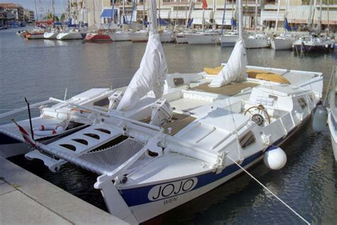 motor catamaran for sale europe tiki 31 self build boat plans james wharram designs