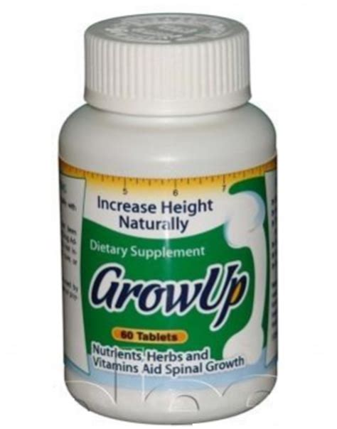 Vitamin Height Up grow taller supplements for adults
