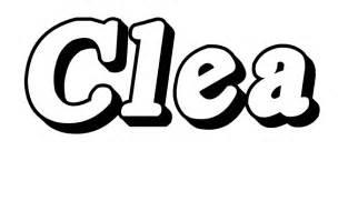 coloriages des pr 233 noms clara 224 cloe