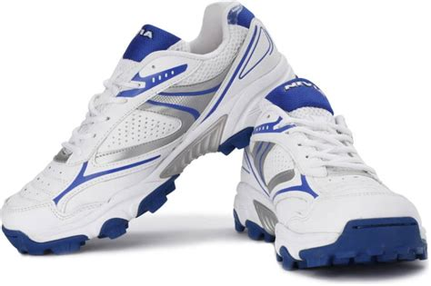 sports shoes auckland nivia auckland cricket shoes buy white royal blue color