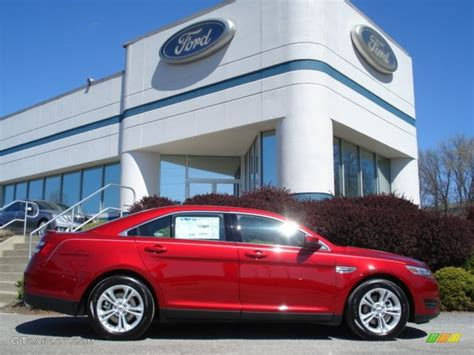 2013 ruby metallic ford taurus sel awd 63516402 gtcarlot car color galleries