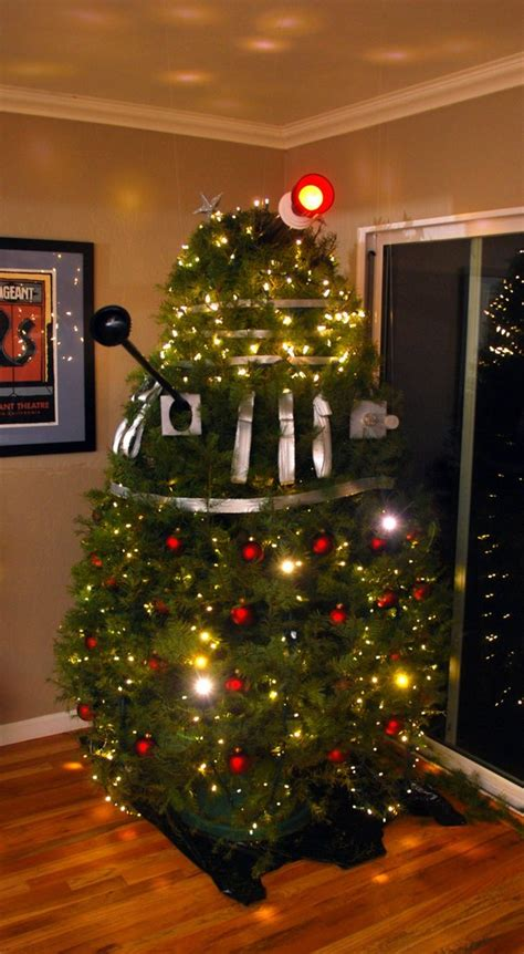dalek christmas trees the world of kitsch
