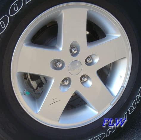 Jeep Wrangler Stock Wheel Size 2010 Jeep Wrangler Oem Factory Wheels And Rims