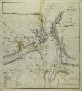 historic maps of historic map of whitby 1828
