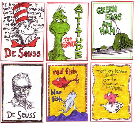 Dr Seuss Birthday Card Happy Birthday Dr Seuss