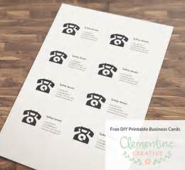 paper to print business cards free diy printable business card template