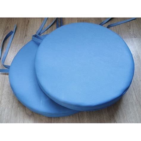 2 bistro dining garden chair stool cushion seat pads