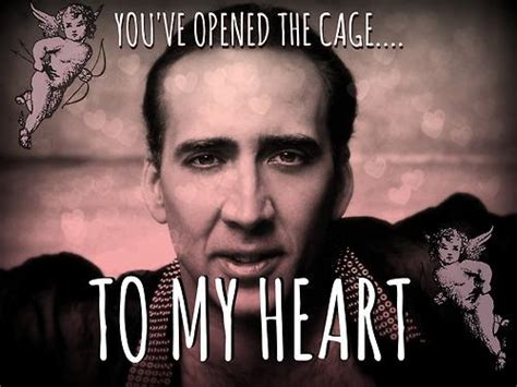 Nick Cage Meme - nicolas cage irony is a poor master