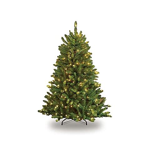 puleo christmas trees puleo international 4 5 foot fraser fir pre lit artificial tree with clear lights