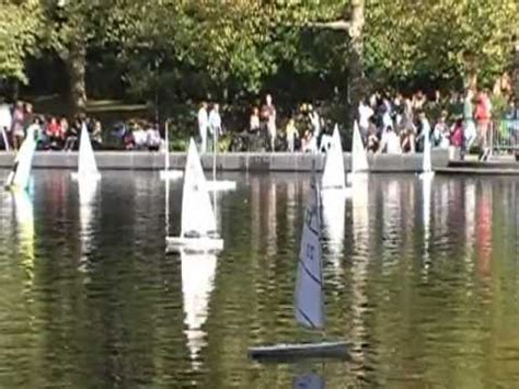 mini boats central park central park boating at the pond youtube