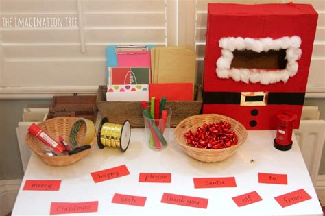 All For One Gift Card Post Office - christmas literacy activity post office writing table