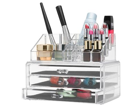 acrylic makeup storage clear acrylic makeup organizer only 16 87 become a coupon