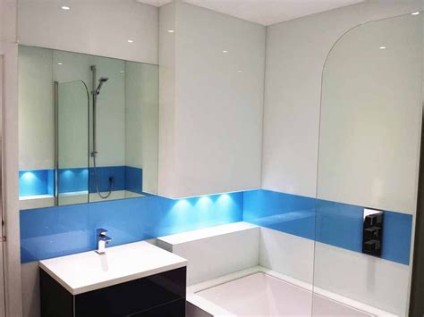 glass bathroom panels simply splashbacks bathroom glass splashbacks coloured