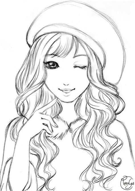fashion girl art   coloring pages  girls