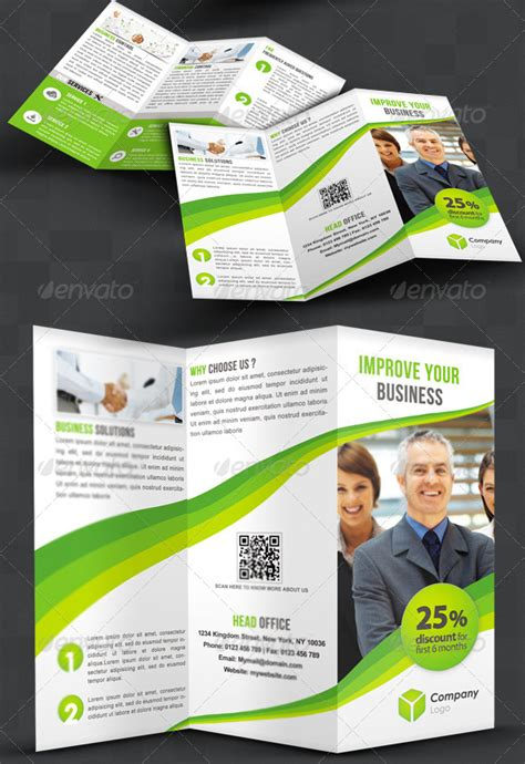 Awesome Tri Fold Brochure Design by 25 Best Brochure Design Templates 56pixels