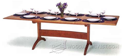 Dining Room Table Plans Woodworking by Dining Room Table Plans Woodarchivist