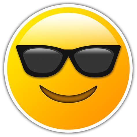 Smiley Bilder Aufkleber by Aufkleber Smiley Mit Sonnenbrille