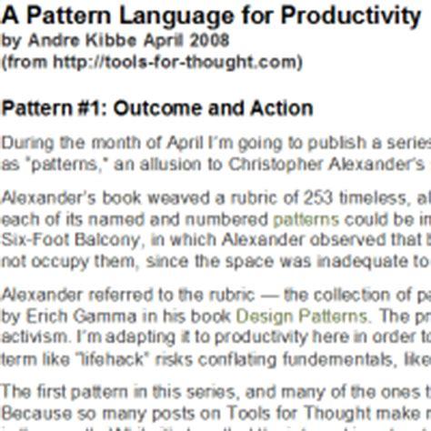 pattern language articles a pattern language pdf 171 free knitting patterns