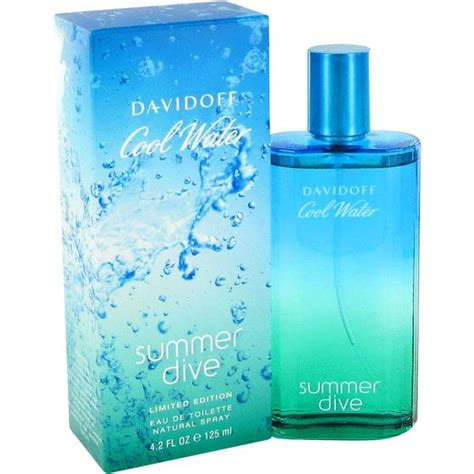 davidoff cool water summer dive cool water summer dive cologne for by davidoff