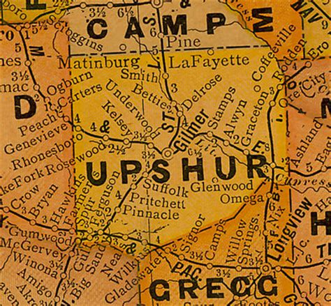 Upshur County Marriage Records Upshur County
