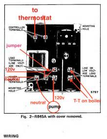 honeywell r845a relay wiring honeywell wiring diagram free