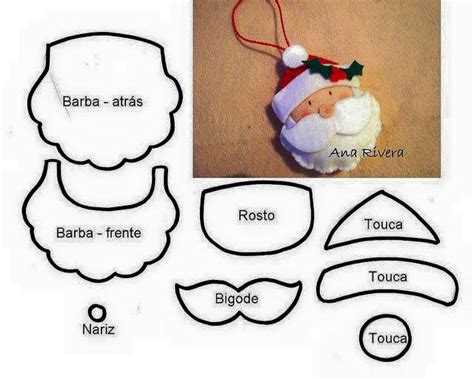 santa claus craft template diy santa claus sewing patterns and ideas the diy