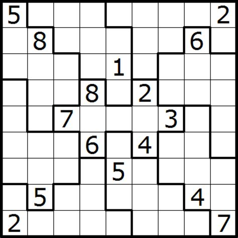 Printable Sudoku Jigsaw Puzzles | related keywords suggestions for jigsaw sudoku